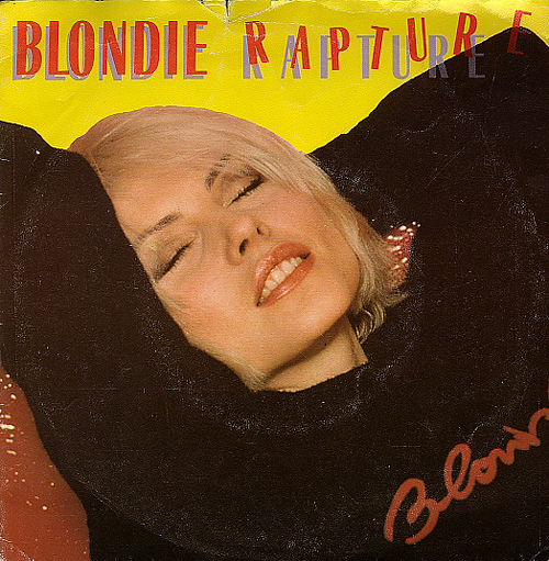 BLONIDE RAPTURE electro disco electro rap cover classic vinyl hit Lookout week end Part 2 synthpop electropop blog