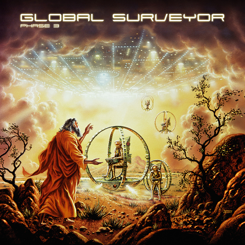 GLOBAL SURVEYOR PHASE 3 - Cover - DOMINANCE ELECTRICITY - electro compilation - idm - ambient - electro bass - spacey electronic - underground