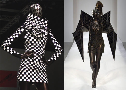 back to bionic gareth pugh 2007 fashion 500x357 High Level fashion show