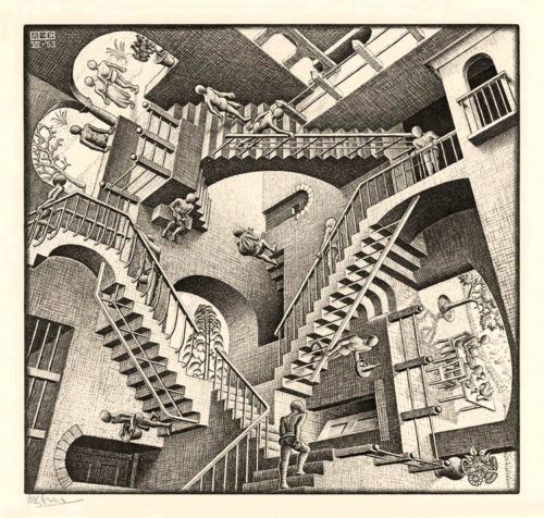 back to bionic escher 500x476 REALITIVITY