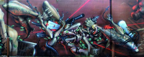 back to bionic totem 2 500x200 Graffiti – Writing Focus Part 02 : TOTEM [Atlanta]