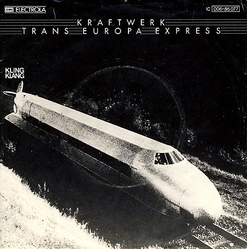 KRAFTWERK - Trans-Europe Express - cover - industrial-electro