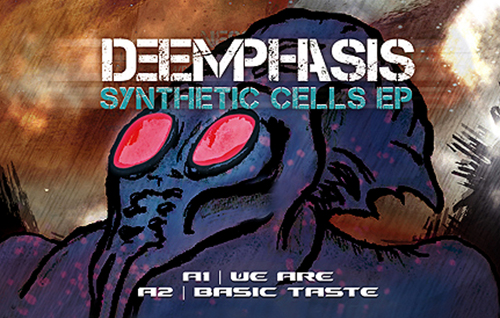 DEEMPHASIS - Synthetic Cells - EP -Newflesh Records - Dark Electro
