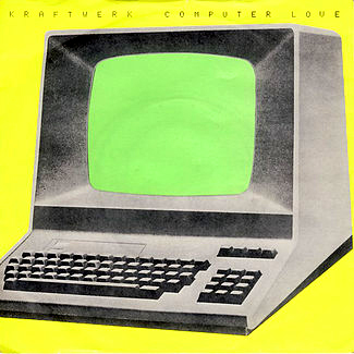 KRAFTWERK - Computer Love - Model -  single - cover - ELECTRO