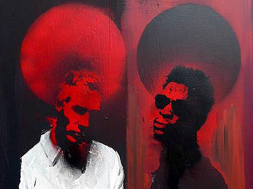 MASSIVE ATTACK - 3D painting