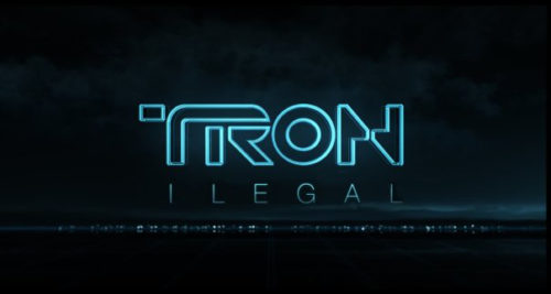 back to bionic tron ilegal 500x267 TRON LEGACY!  [SHIFT+DELETE]