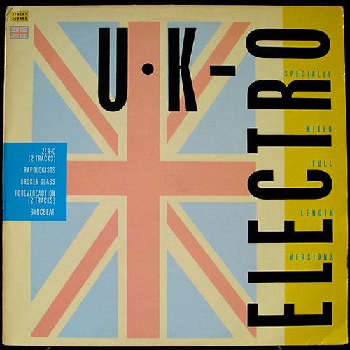 STREET SOUNDS - UK Electro Electro rap - compilation - 1984