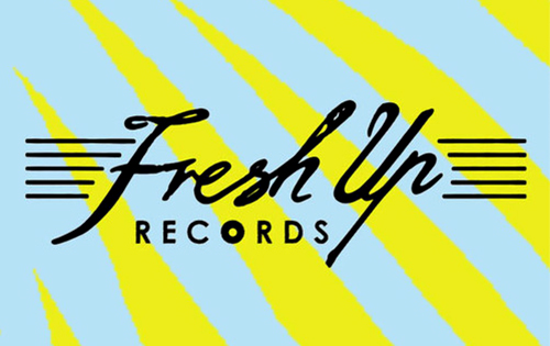 FRESH UP Records - Electro funk - Synthpop - Disco - Vinyl label by DMX KREW aka EDMX