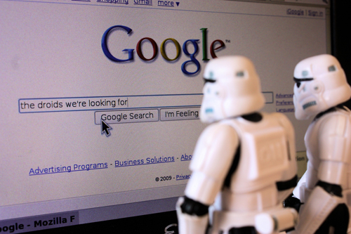 back to bionic The droids were googling for stormtroopers365 STORMTROOPERS 365