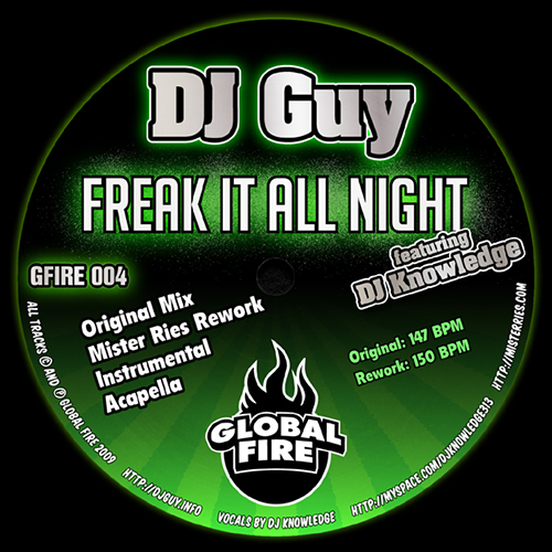 DJ GUY - Freak It All Night - Global Fire Label - UK - Ghetto Bass