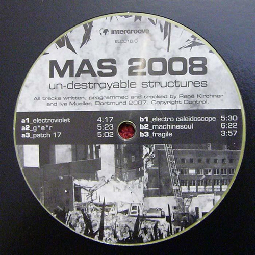 MAS 2008 - Un-destroyable Structure - Electronic Corporation - electro