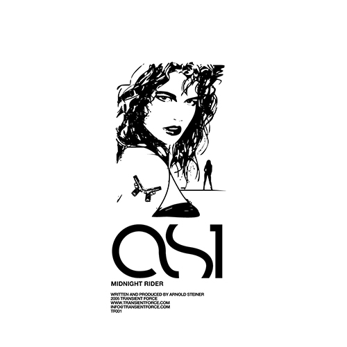 AS1 - Midnight Rider - album - Transient Force - Electro Bass - Miami Bass- Electro Techno