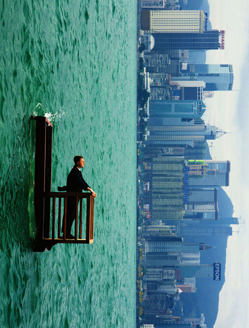 back to bionic PHILLIPE RAMETTE le balcon 2 hong kong 2001 over sea life under water The abyss, the surface, the base…