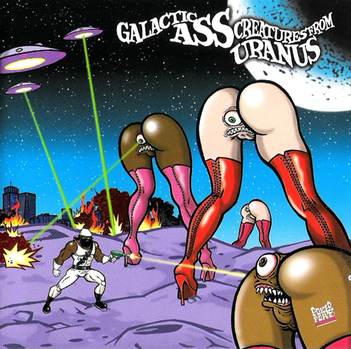 back to bionic DETROIT GRAND PUBAHS Detroit Grand Pubahs Galactic Ass Creatures From Uranus cover detroit electro techno classic F.R.E.A.K.S.