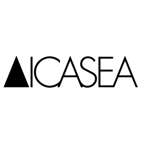 ICASEA - logotype - electro label - UK + JAPAN