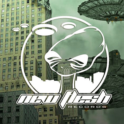 back to bionic NewFlesh Records Invasion 1 Compilation cover Electro Bass Umwelt BIONIC PODCAST #03 : by UMWELT