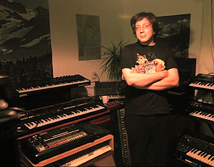 back to bionic legowelt electro producer netherlands LEGOWELT Homestudio