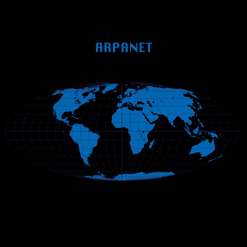ARPANET gerald donald wirless internet album cover electro record makers 2002 Advanced Research Projects Agency NETwork electro blog