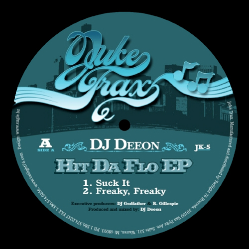 back to bionic DJ Deeon Hit Da Flo EP Juke Trax cover X RATED Part 5 : DJ DEEON