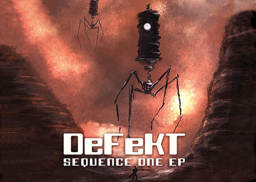 back to bionic DEFEKT SEQUENCE ONE ep vinyl newflesh records chris nexus electro SPACEY Tune by DEFEKT