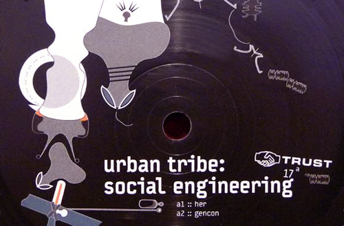 URBAN TRIBE SOCIAL ENGINEERING TRUST 017 DETROIT TECHNO SOCIAL ENGINEERING machine funk future funk accelerated funk blog