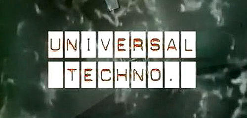 back to bionic UNIVERSAL TECHNO DOCUMENTARY 90s Dominique Deluze UNIVERSAL TECHNO