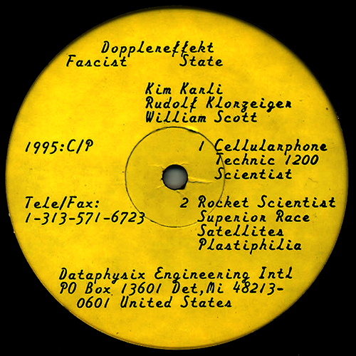 back to bionic DOPPLEREFFEKT Fascist State vinyl dataphysix Engineering electro music Over the Earth