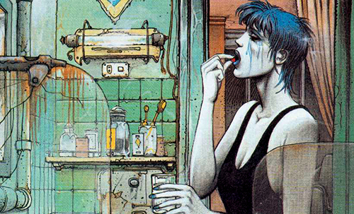 Blue tears - The  woman trap - La femme piege - Enki Bilal