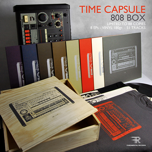 Time Capsule - 808 Box - Electro music - Fundamental Records - Alek Stark - Jauzas the Shining - Viktoria Lukas