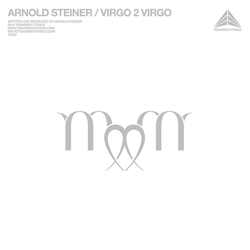 ARNOLD STEINER - VIRGO 2 VIRGO - album - cover - electro - techno - Miami bass - Transient Force - AS1