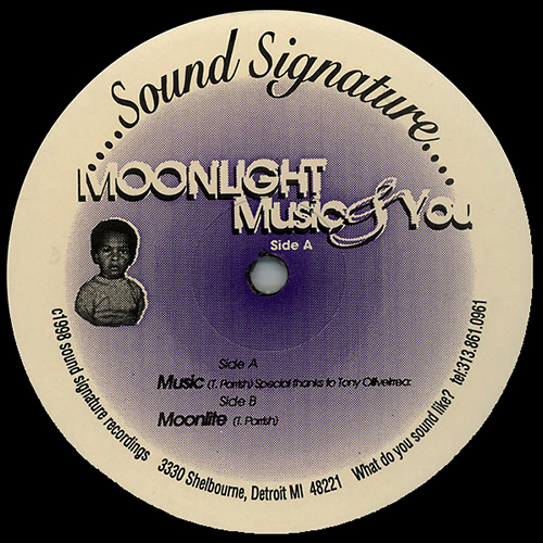 THEO PARRISH - Moonlight Music & You EP -  Sound Signature Label - Detroit House