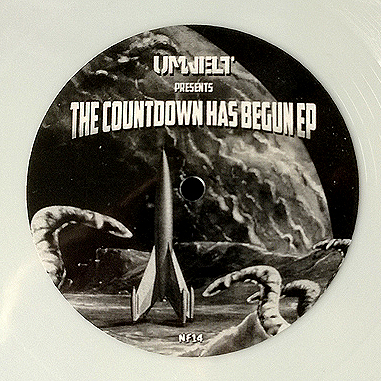 UMWELT - The count has begun - Ep - Vinyl - Newflesh - Records - N14 - Dark Electro