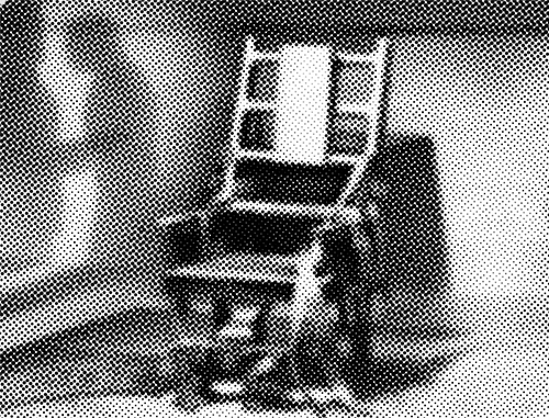 ELECTRIC CHAIR - capital punishment