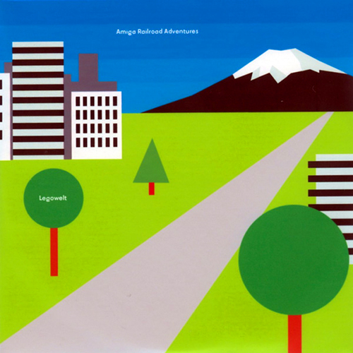 LEGOWELT - Amiga Railroad Adventures - Strange LIfe records - 2009 - ambient electro house