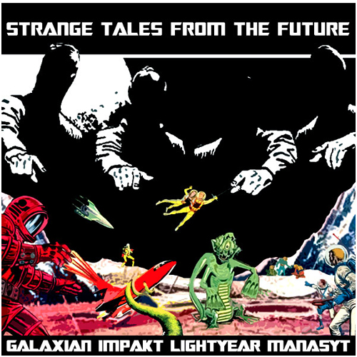STRANGE TALES FROM THE FUTURE compilation Vol. 2 - Solar One Music - 2009