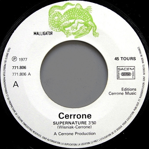 Cerrone - Supernature - vinyl